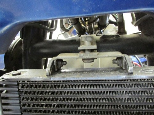 Oil Cooler Top  Bracket