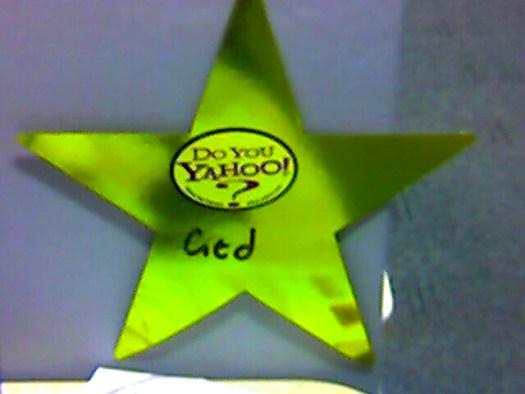 Yahoo! star