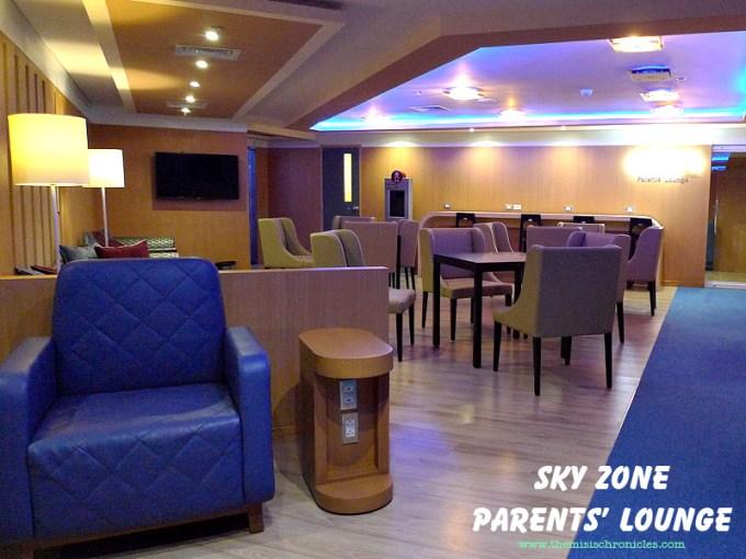 Sky Zone Parents' Lounge