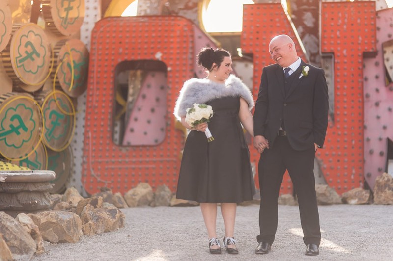 Second chance love wedding on @offbeatbride