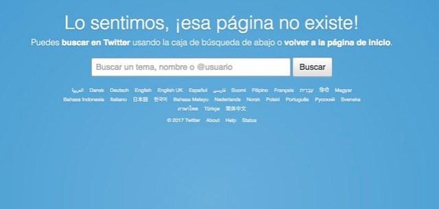 Tweet eliminado