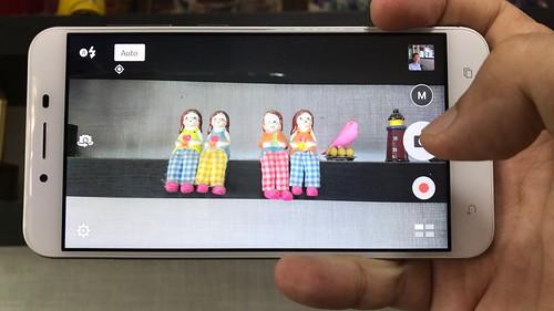 User Interface กล้อง ASUS Zenfone 3 Max ZC553KL