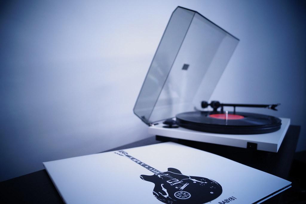 Imagen gratis de un tocadiscos de vinilo