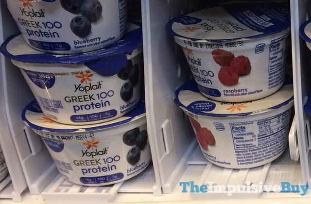Yoplait Greek 100 Protein Yogurt (Blueberry and Raspberry)