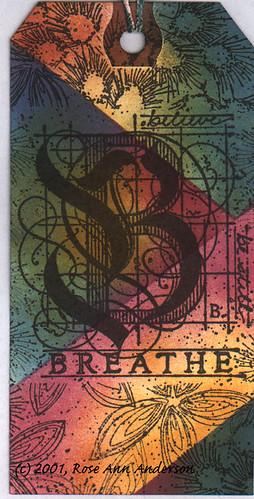 Breathe Bookmark