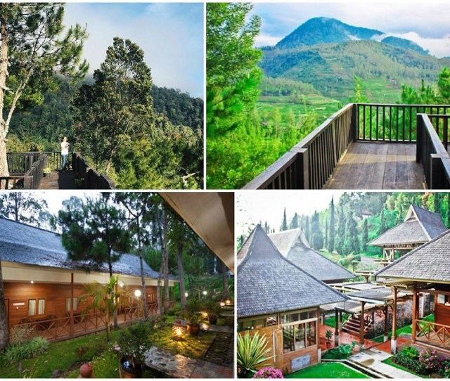 Berlokasi Di Kaki Gunung Patuha Tentu Saja Anda Akan Memperoleh Udara Yang Sejuk Air Yang Segar Serta Pemandangan Yang Sangat Indah Saat Menginap Di