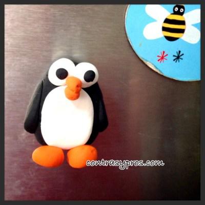 Pingüino arcilla Jumping Clay