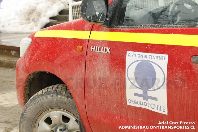 Toyota Hilux - Camioneta Minera - El Teniente