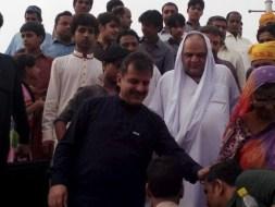 Welcome Sain Sadhram Sahib at Pooj Raherki Sahib (17)