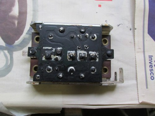 Diode Board Front with Top at Top