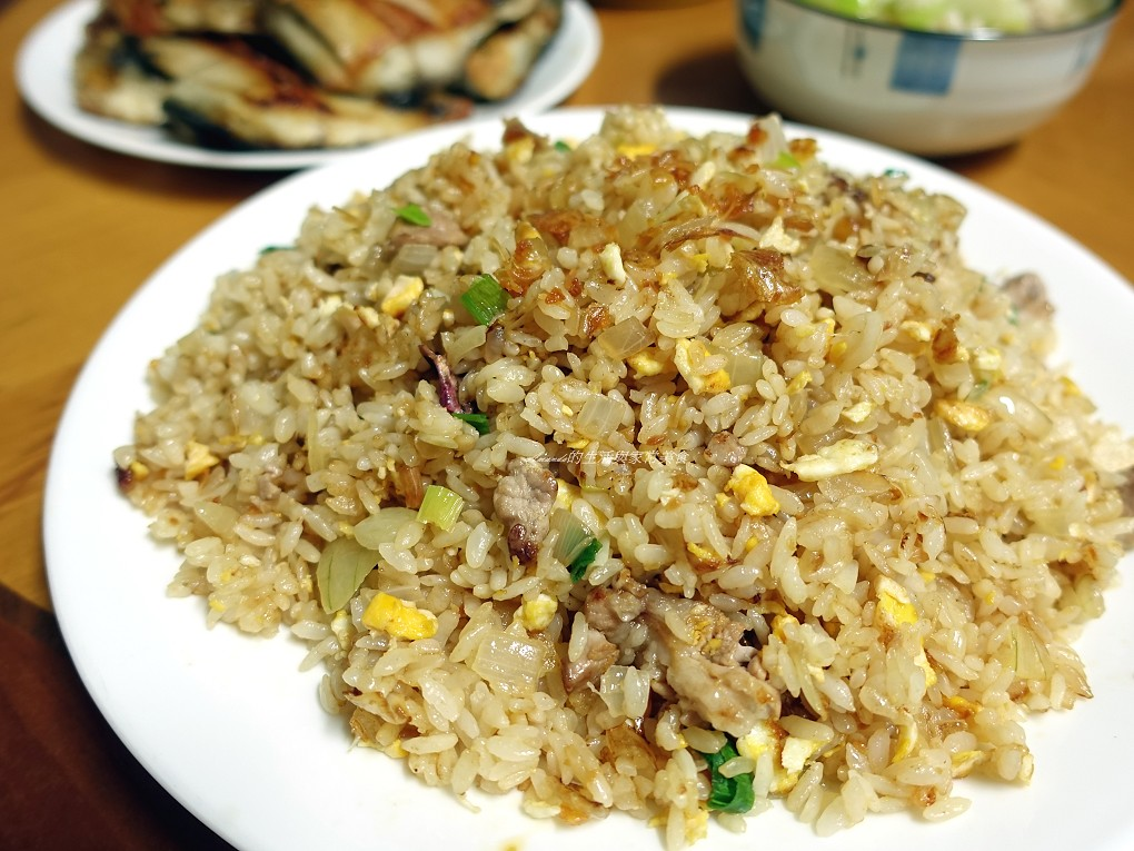 XO肉絲炒飯 (2)