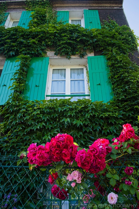 Montmartre Paris Flowers