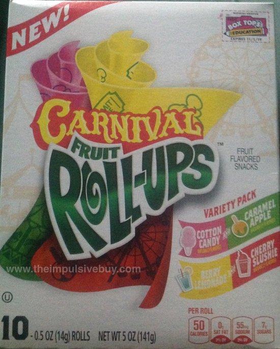 Carnival Fruit Roll-Ups