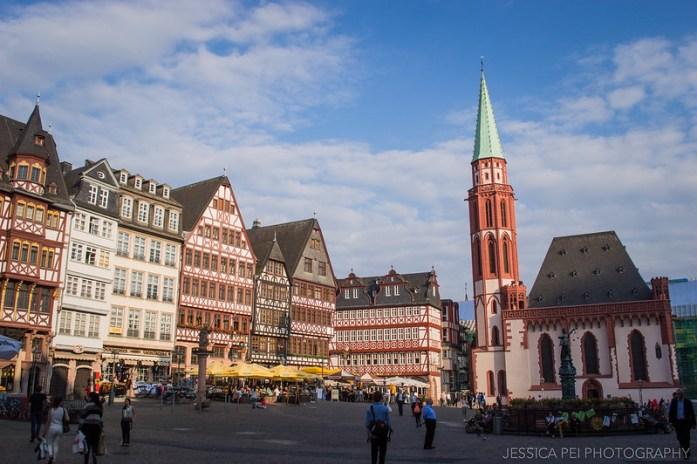 Römerberg Frankfurt Germany