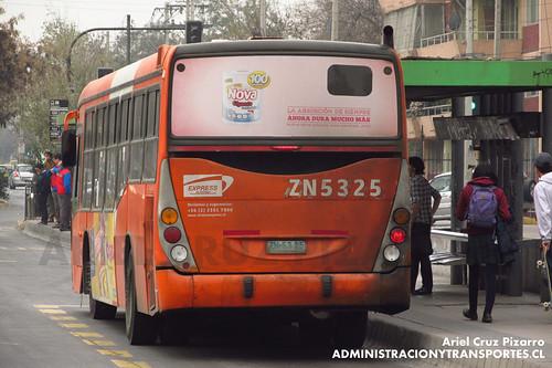 Transantiago - Express de Santiago Uno - Marcopolo Gran Viale / Volvo (ZN5325)