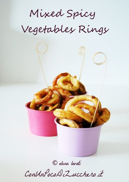 Mixed Spicy vegetables rings