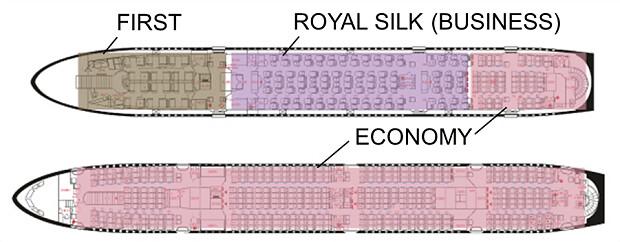 170130 タイ航空A380シート図