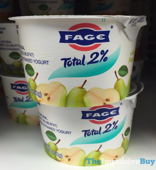 Fage Total 2% Greek Yogurt with Pear