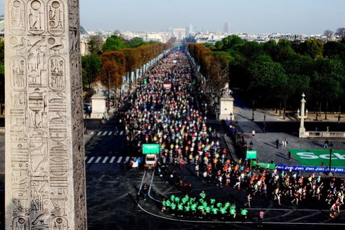 Maratón de Paris 2015