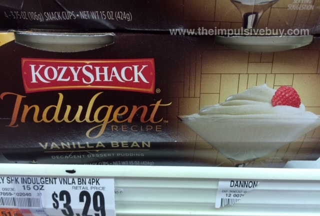 Kozy Shack Indulgent Recipe Vanilla Bean Decadent Dessert Pudding