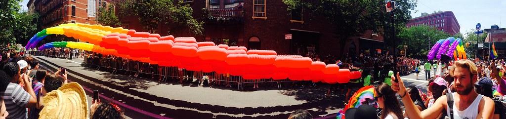 Gay Pride Parade - Panorama