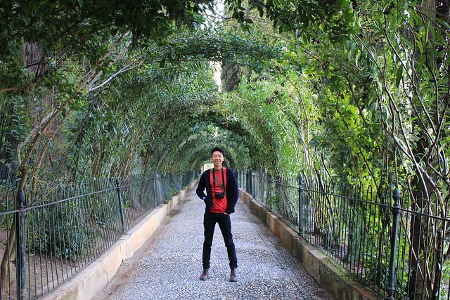 Alhambra & Generalife in Granada, Spain