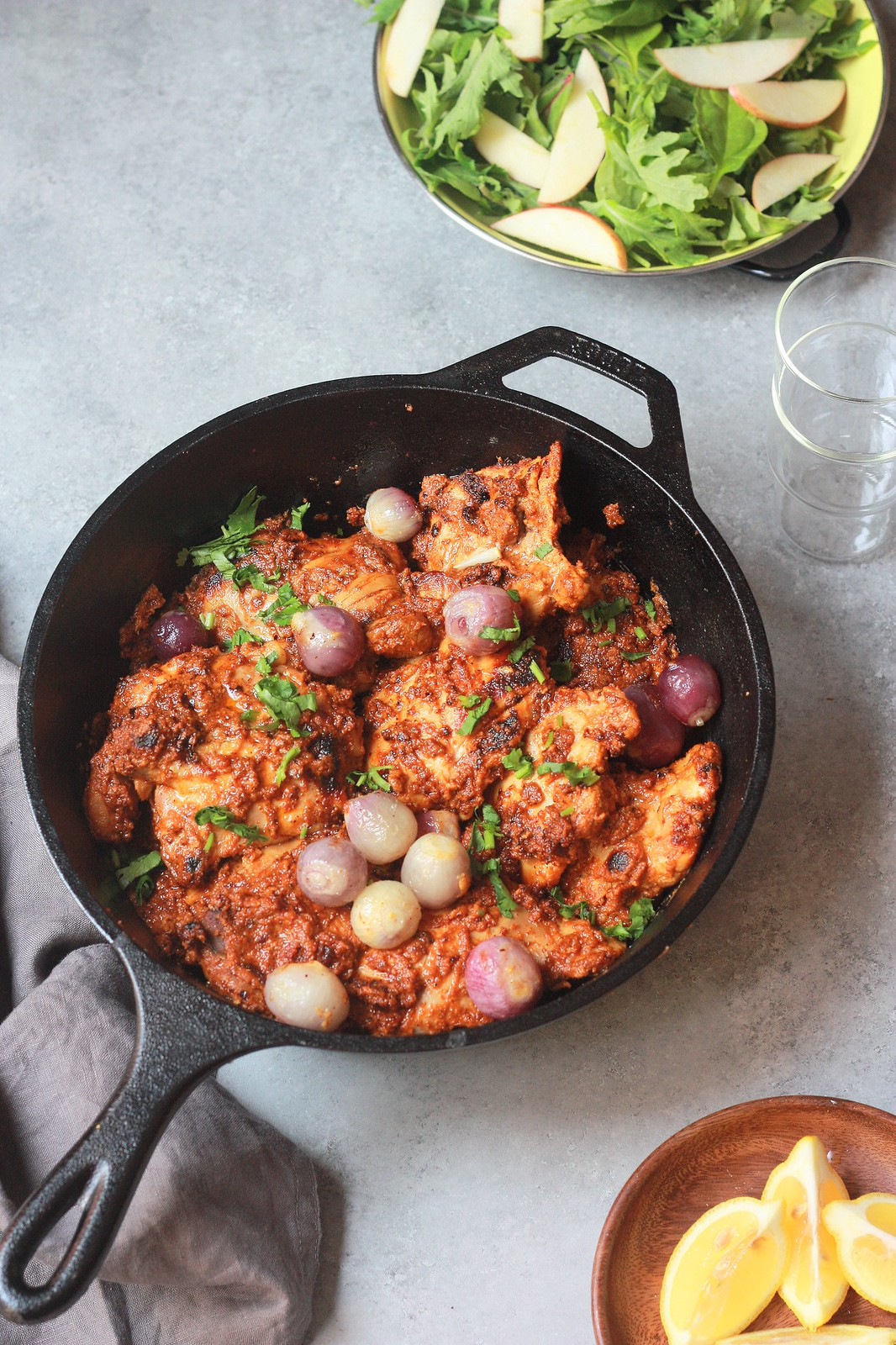 Grilled/Baked Chicken in a Tamarind Masala Sauce