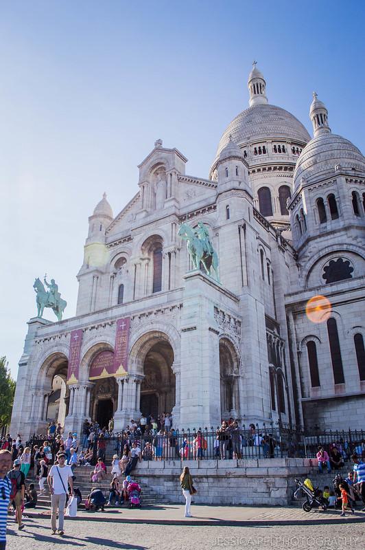 Basilica Sacre Coeur Montmartre Paris