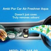 Ambi Pur Car Air Freshner Aqua