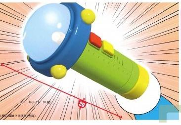 The Small Light can shrink items. Credit: doraemon.wikia.com