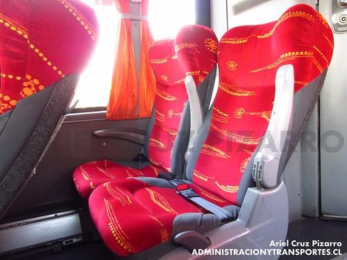 Buses TJM - Los Ángeles - Marcopolo Viaggio 1050 / Mercedes Benz (GLZH19)