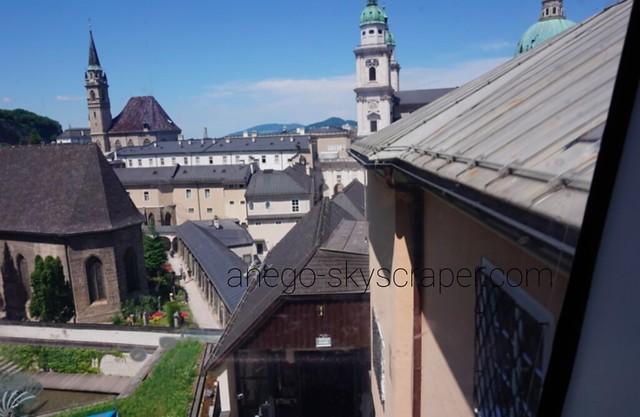 ザルツブルク城に登る