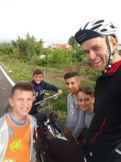 Getting stopped by many kids in each village in Albania