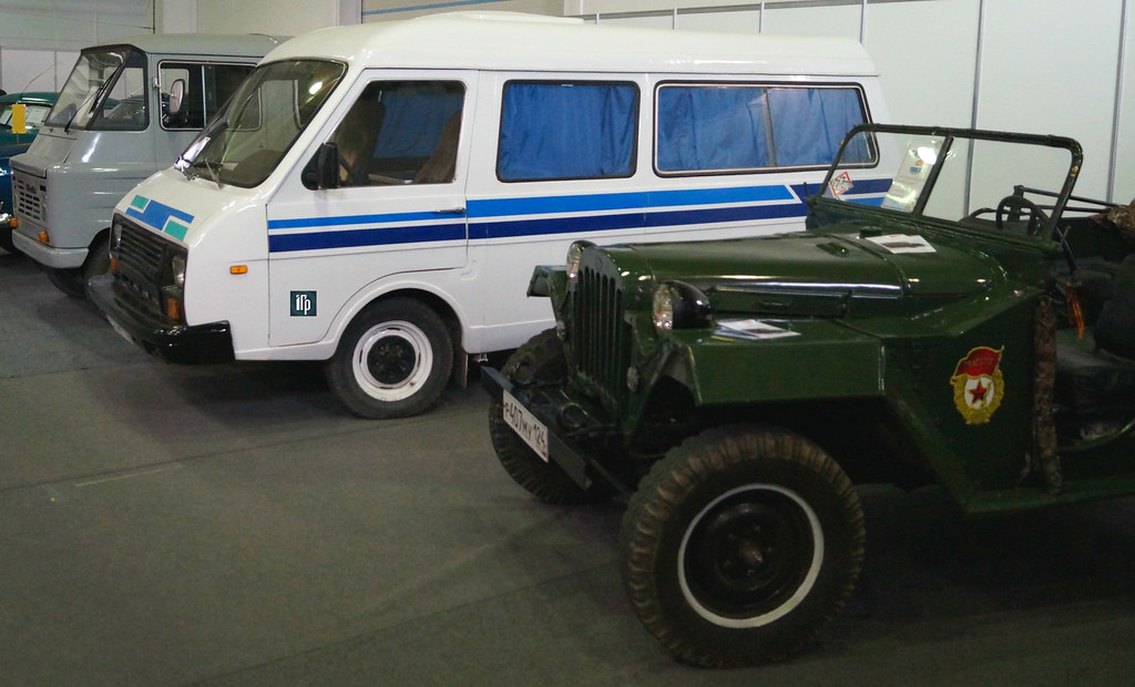ГАЗ-67Б РАФ-22038 Жук