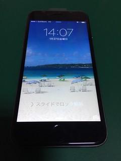 254_iPhone6のフロントパネル液晶割れ