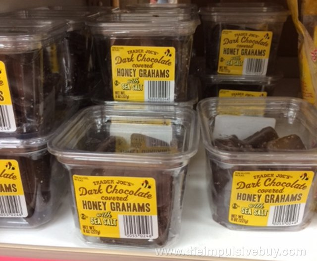Trader Joe's Dark Chocolate Covered Honey Grahams with Sea Salt
