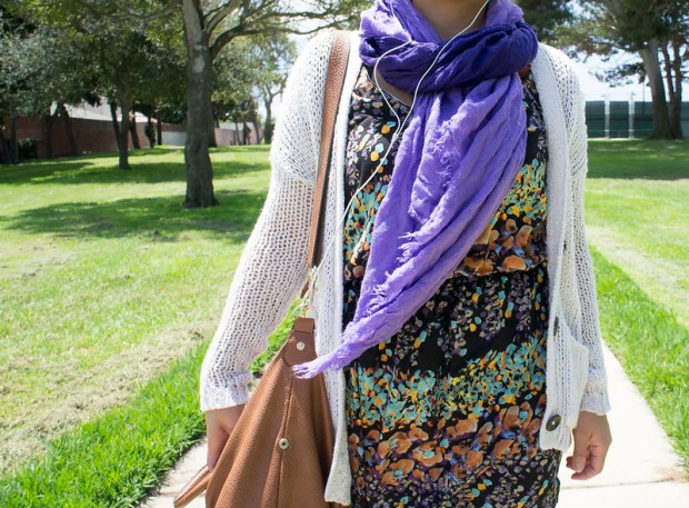 Girl in the Purple Scarf