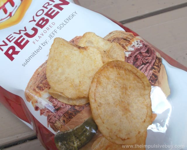 Lay's Do Us a Flavor New York Reuben Potato Chips 2