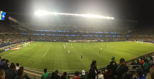 Sin complicación y sin mucho fútbol la selección Mexicana venció al seleccionado cubano 6-0 en la Copa Oro