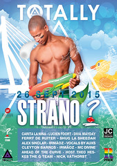 Totally Strano (Rotterdam Pride) 26 september 2015