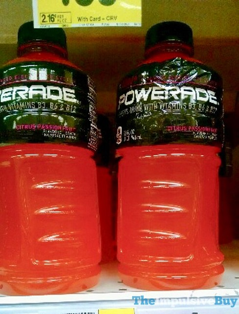 Powerade Citrus Passionfruit