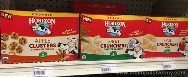 Horizon Apple Clusters and Fruit Crunchers