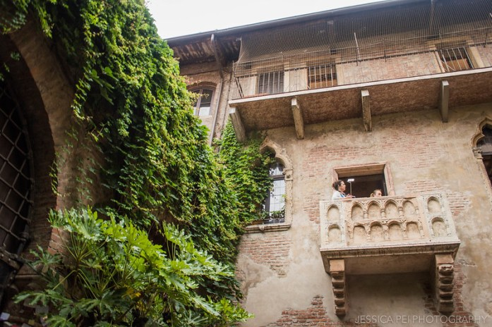 Romeo Juliet Balcony Verona Italy