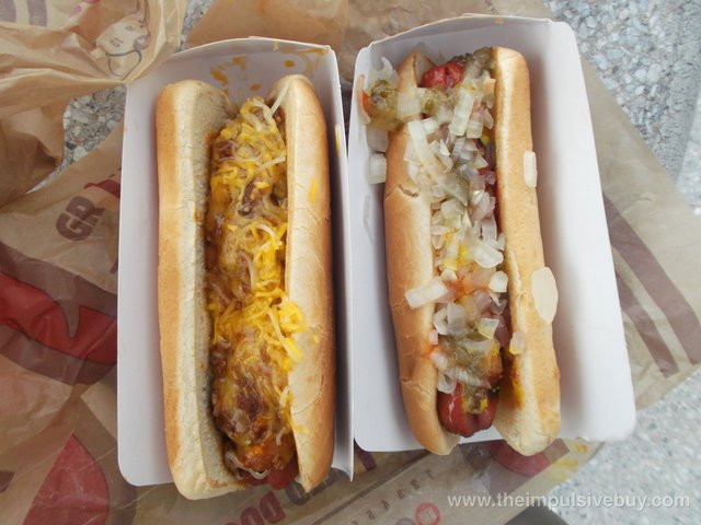 Burger King Grilled Dogs 2