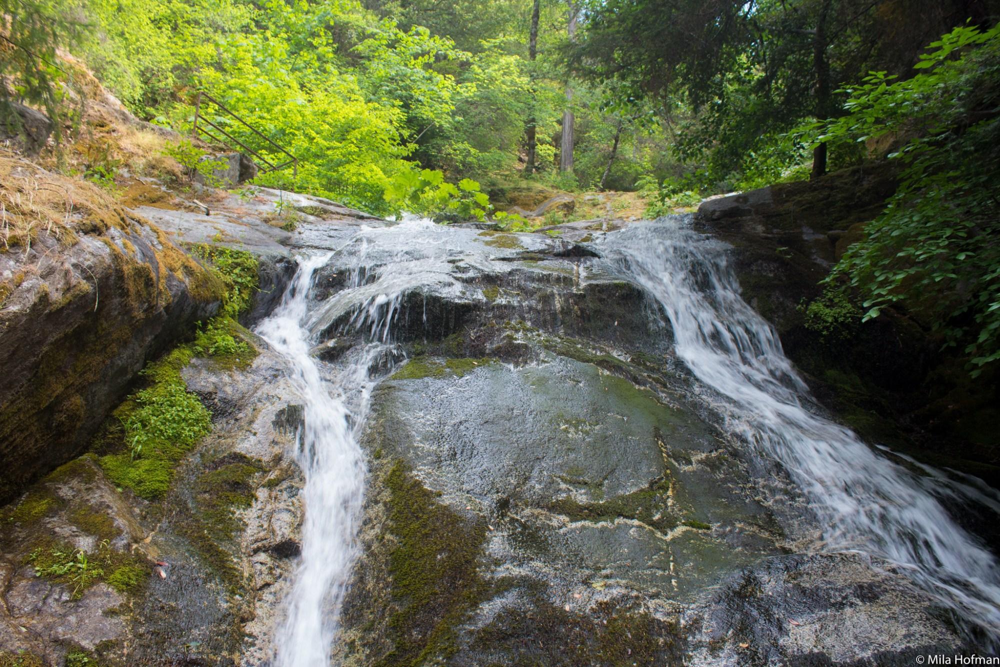 Whiskeytown waterfalls