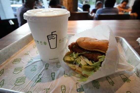 Shake Shack Shicken Sandwich