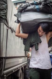 Unloading a Truck