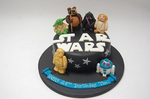 Ultimate Star Wars Cake Beautiful Birthday Cakes