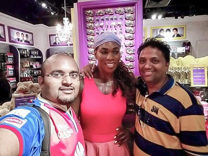 Wax Statue of Serena Williams