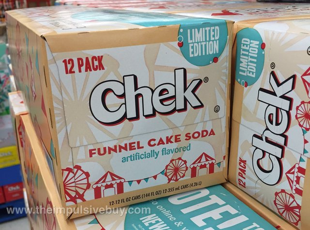Chek Limited Edition Funnel Cake Soda